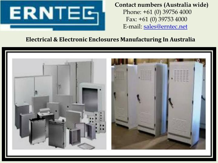 Electrical & Electronic Enclosures Manufacturing In