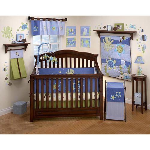 NoJo Sea Babies Crib Sheet - NoJo - Babies \