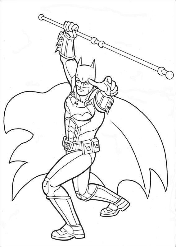 Batman Coloring Pages Sheets