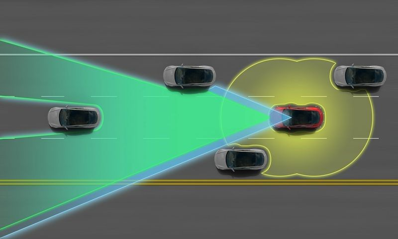 Tesla model D is first digital car