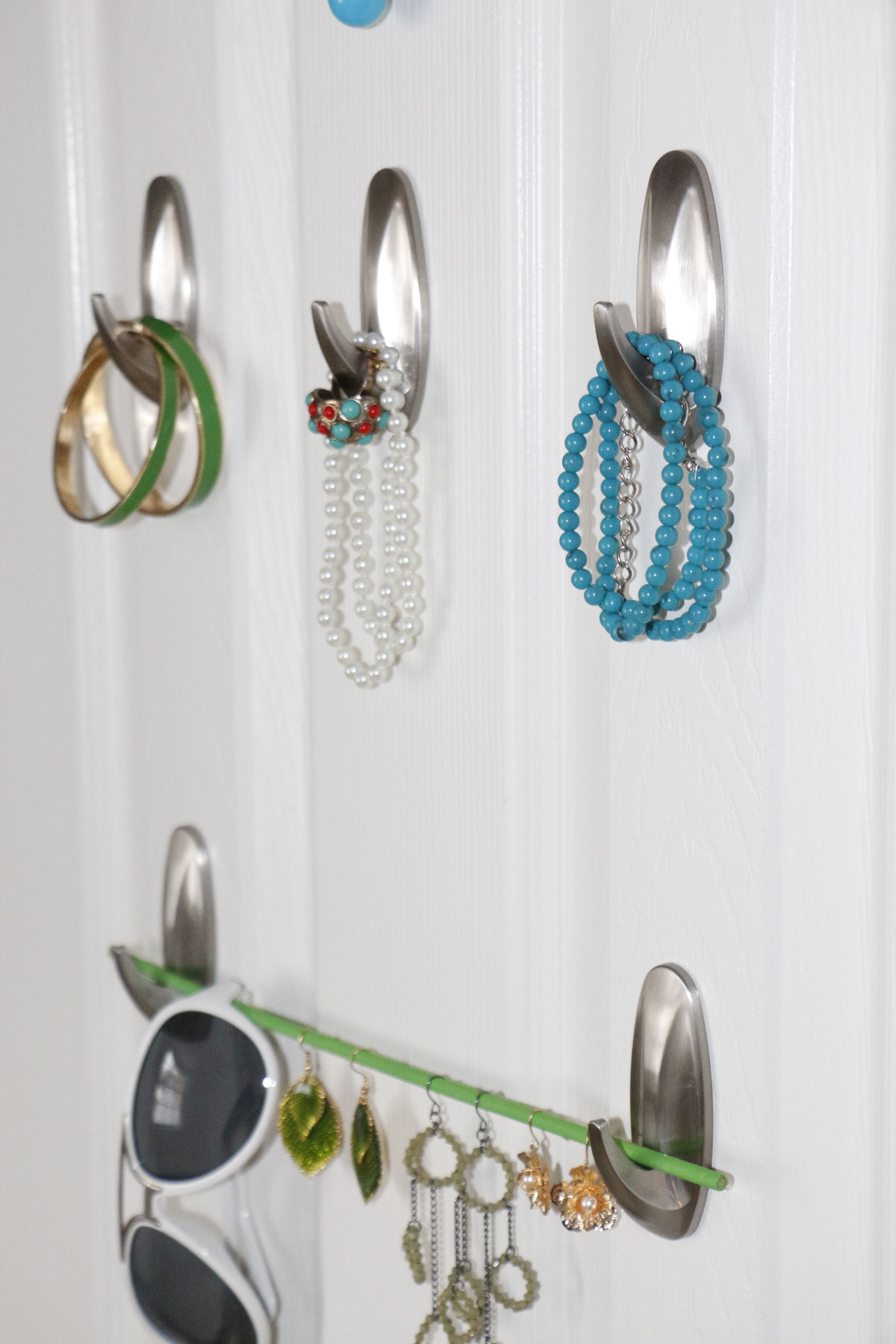 Command Hooks Jewelry Organizer Organize Pinterest Command