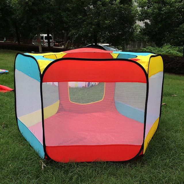 Tent for Kids Playhouse Indoor Outdoor Easy Folding Ball Pit Kids