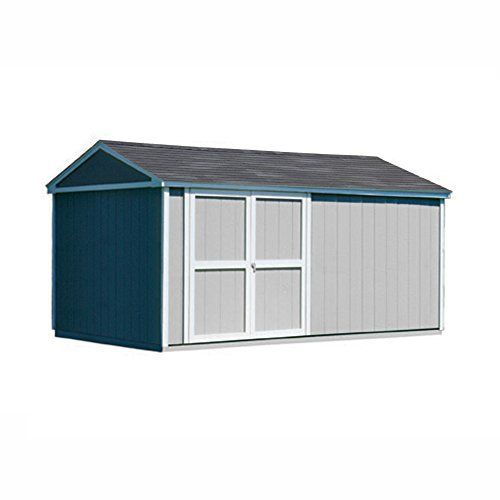 Handy Home Products Somerset Wooden Storage Shed 10 By 14 Feet Wooden Storage Sheds Shed Plans Diy Storage Shed Plans