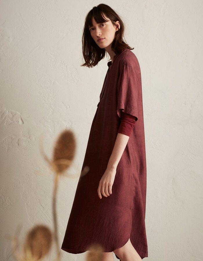TOAST | Slk Khadi Tunic Dress