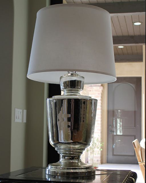 Jamie young large lafitte table lamp in mecury glass beautiful jamie young large lafitte table lamp in mecury glass mozeypictures Image collections