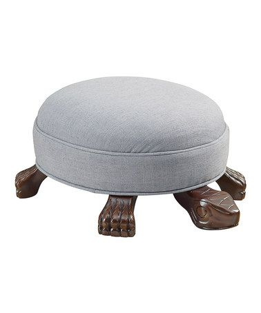 Another Great Find On Zulily Gray Turtle Ottoman