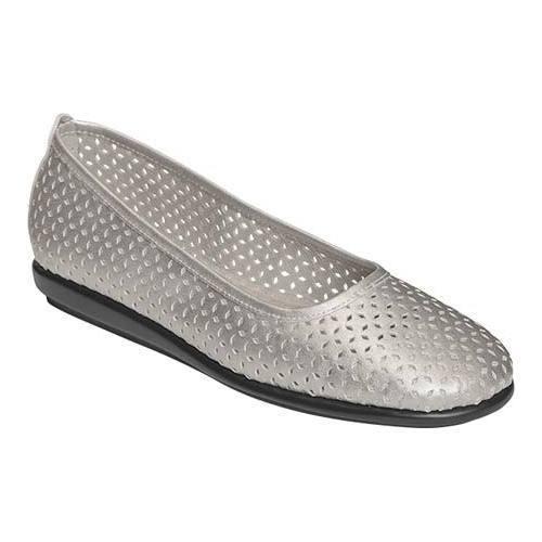 Womens Shoes Aerosoles Solsa Dance Silver Metallic