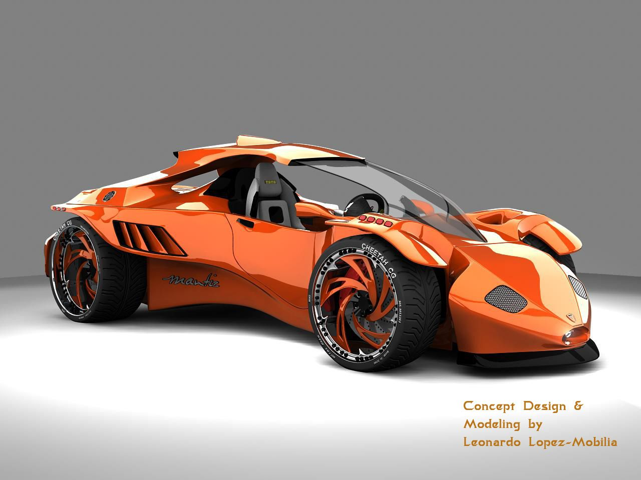 Concept Vehicles Mantiz Car By Lambo Digital Art 3 Dimensional