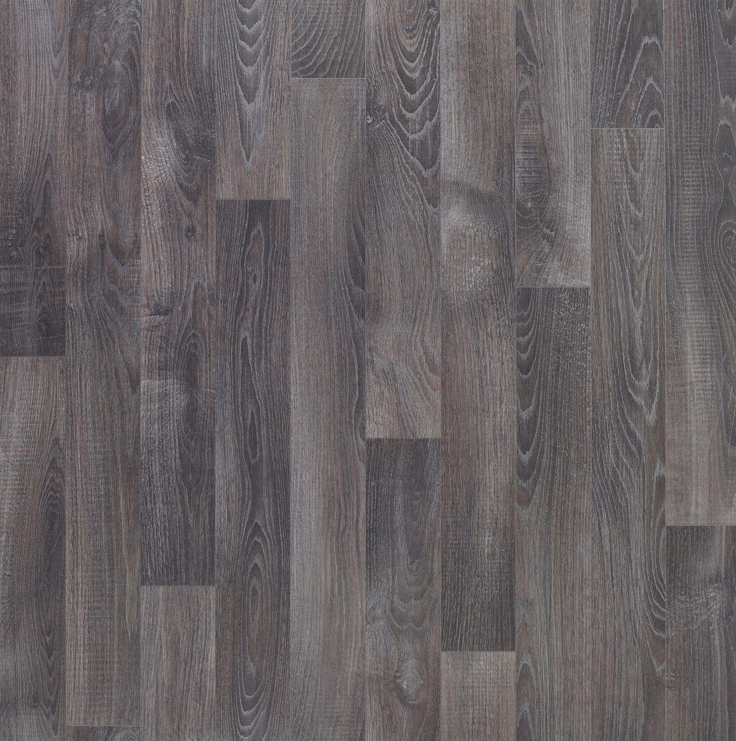 Dark Grey Oak Effect Vinyl Flooring 4 M2