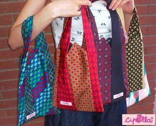 carina migliore selezione di taglia 7 Cipolla: Borse realizzate con cravatte di seta | Borsa di ...