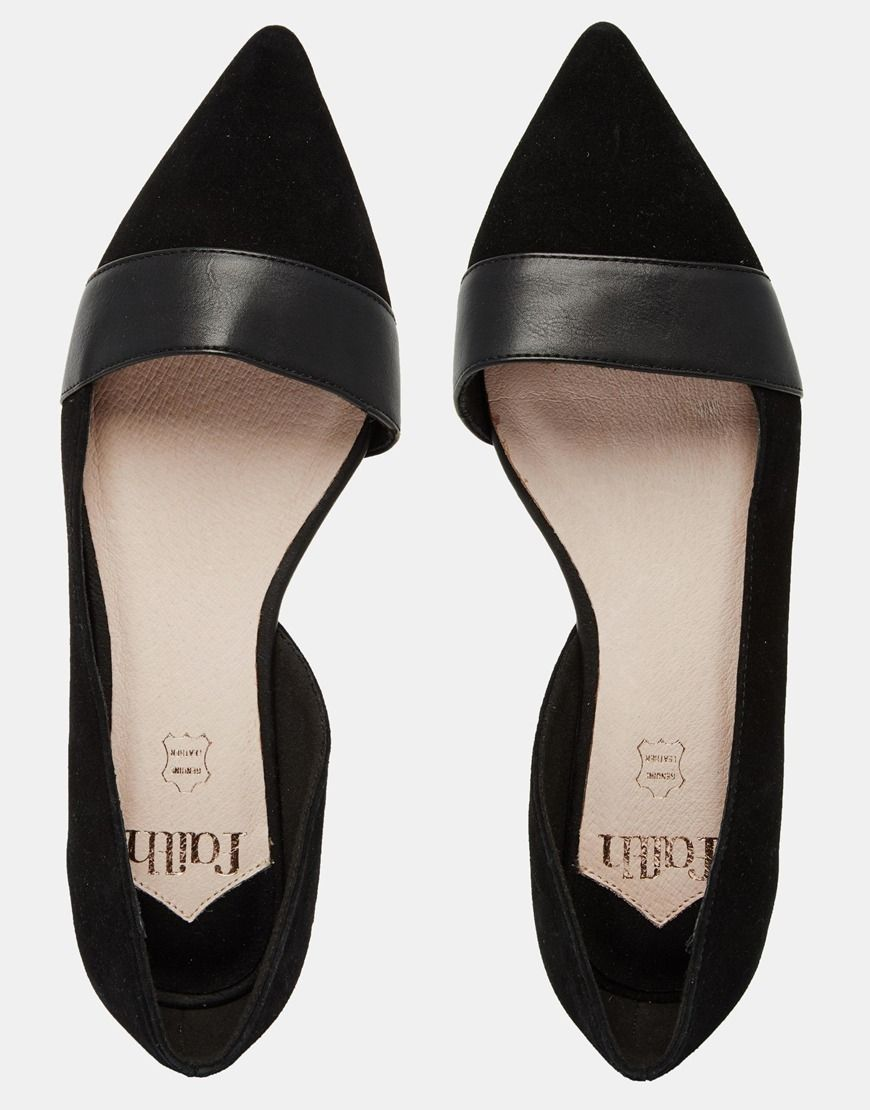 Image result for black flat shoes pointed toe