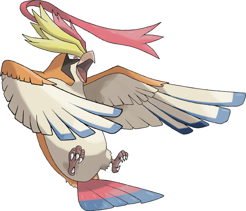 Mega Pidgeot By Theangryaron Deviantart Com On Deviantart Pokemon