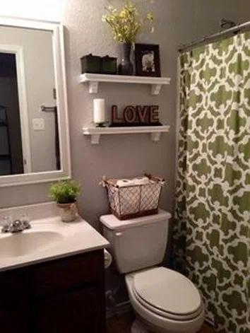 49 beautiful farmhouse bathroom decor ideas you will go