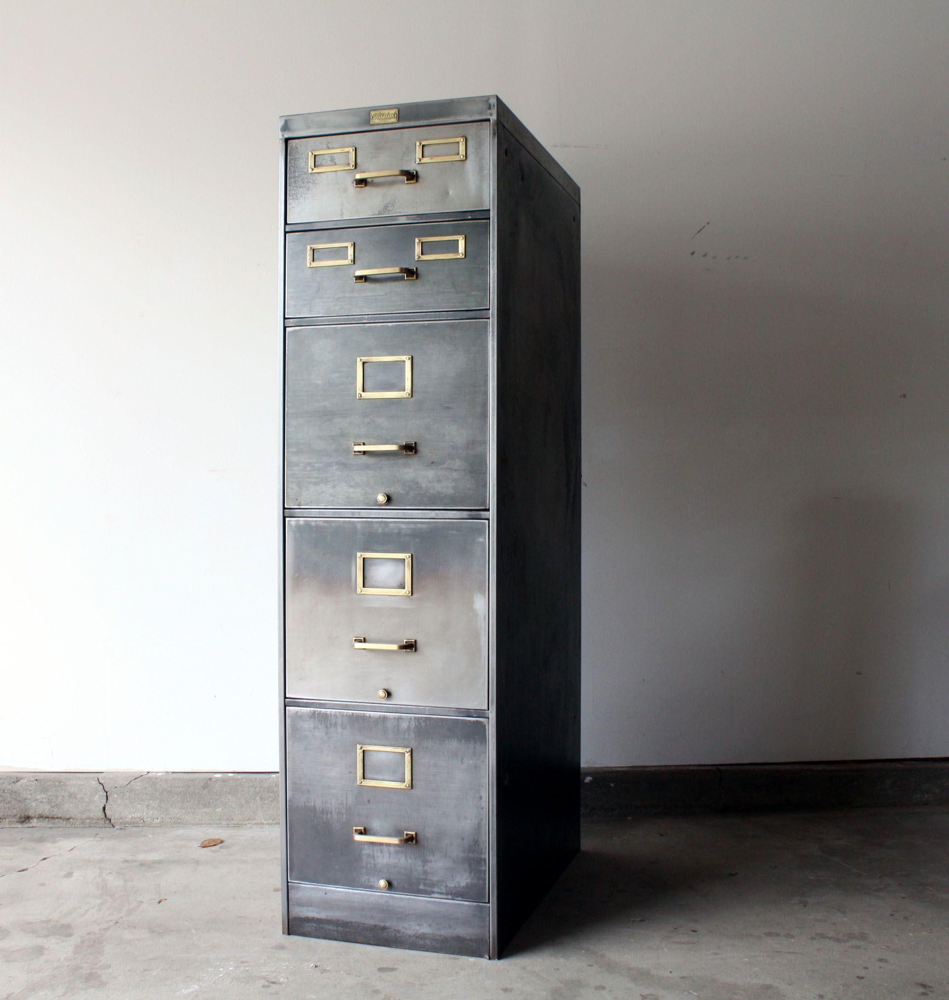 Vintage Stripped Metal Filing Cabinets Disenos De Unas Decoracion De Unas Archiveros