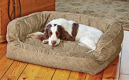 Terrific Fleece Lined Deep Dish Dog Bed With Memory Foam Dogs Dog Onthecornerstone Fun Painted Chair Ideas Images Onthecornerstoneorg
