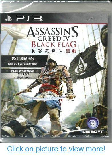 Assassin S Creed Iv Black Flag English Voice Chinese Subtitles Region Free Edition Pla Assassins Creed Black Flag Assassin S Creed Black Assassins Creed