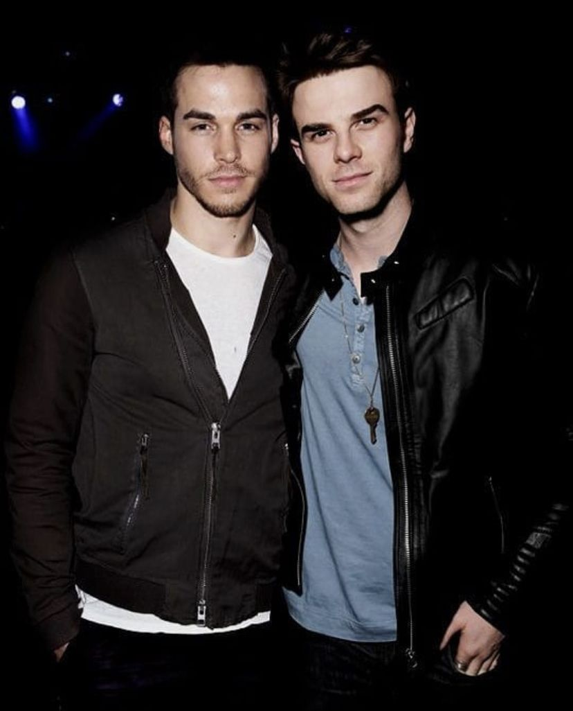 Kai And Kol Villain Here In 2020 Chris Wood Nathaniel Buzolic Vampire Diaries Cast