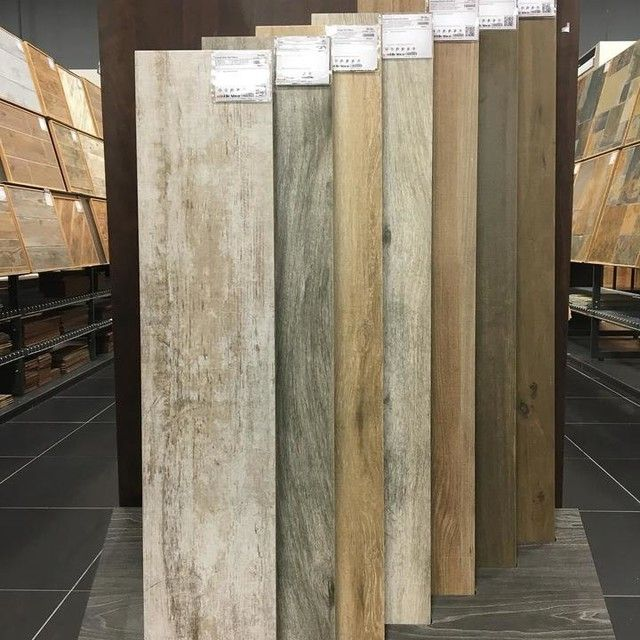 Cleveland Wengue Wood Look Wall And Floor Tile 9 X 47 In The Decor Pinterest Faux Walls