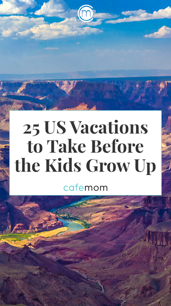 25 Great US Spots To Take The Kids Before They Graduate