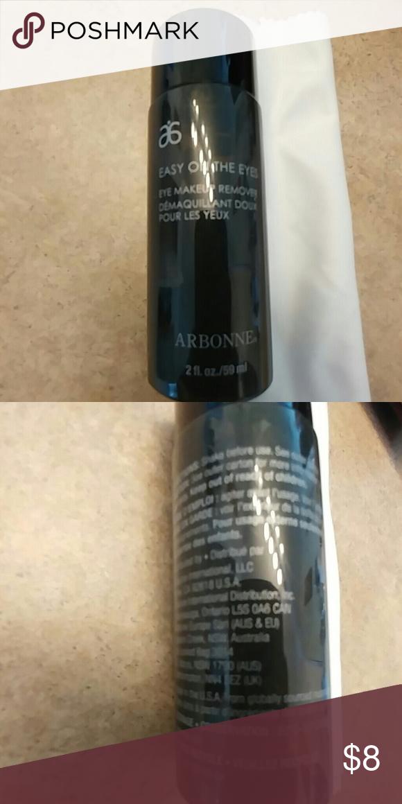 Arbonne eye makeup remover Easy on the Eyes Eye makeup