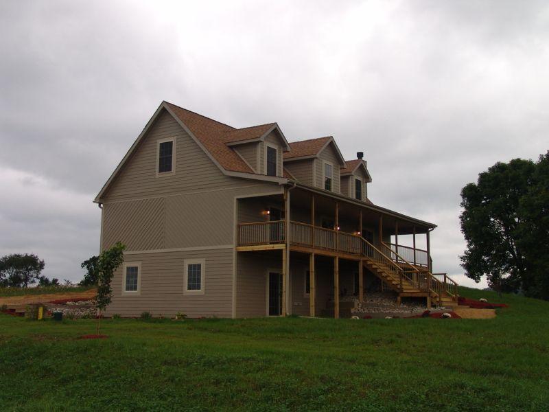 Modular Home Cape Cod With Walk Out Basement Modular Homes Cape