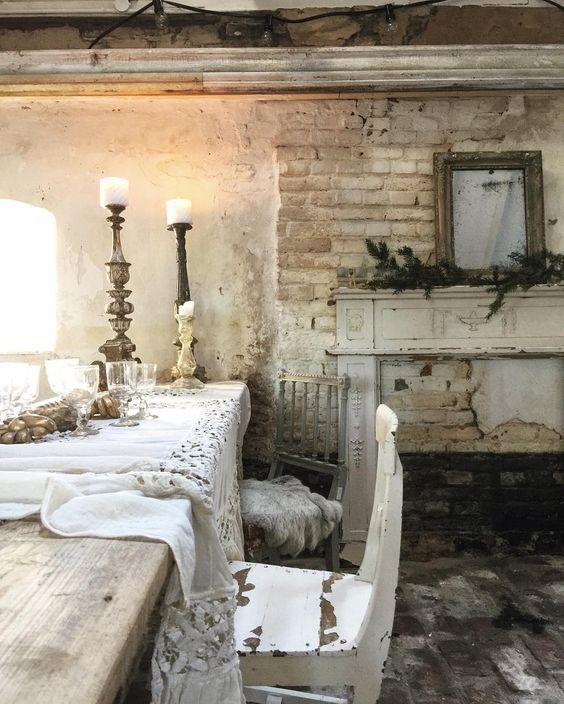 """Modern French Country Decor: Berengia: """" (via Shabby Chic Angel Wings Made Of Vintage"""