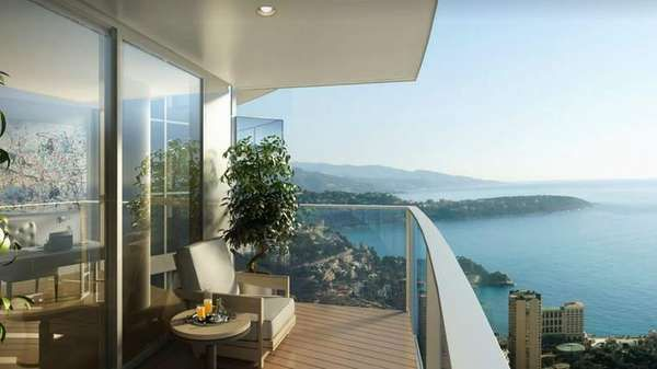 Touchscreen Skyrise Apartments Monaco S Odeon Tower Will Feature Advance Architecture And Services Gallery