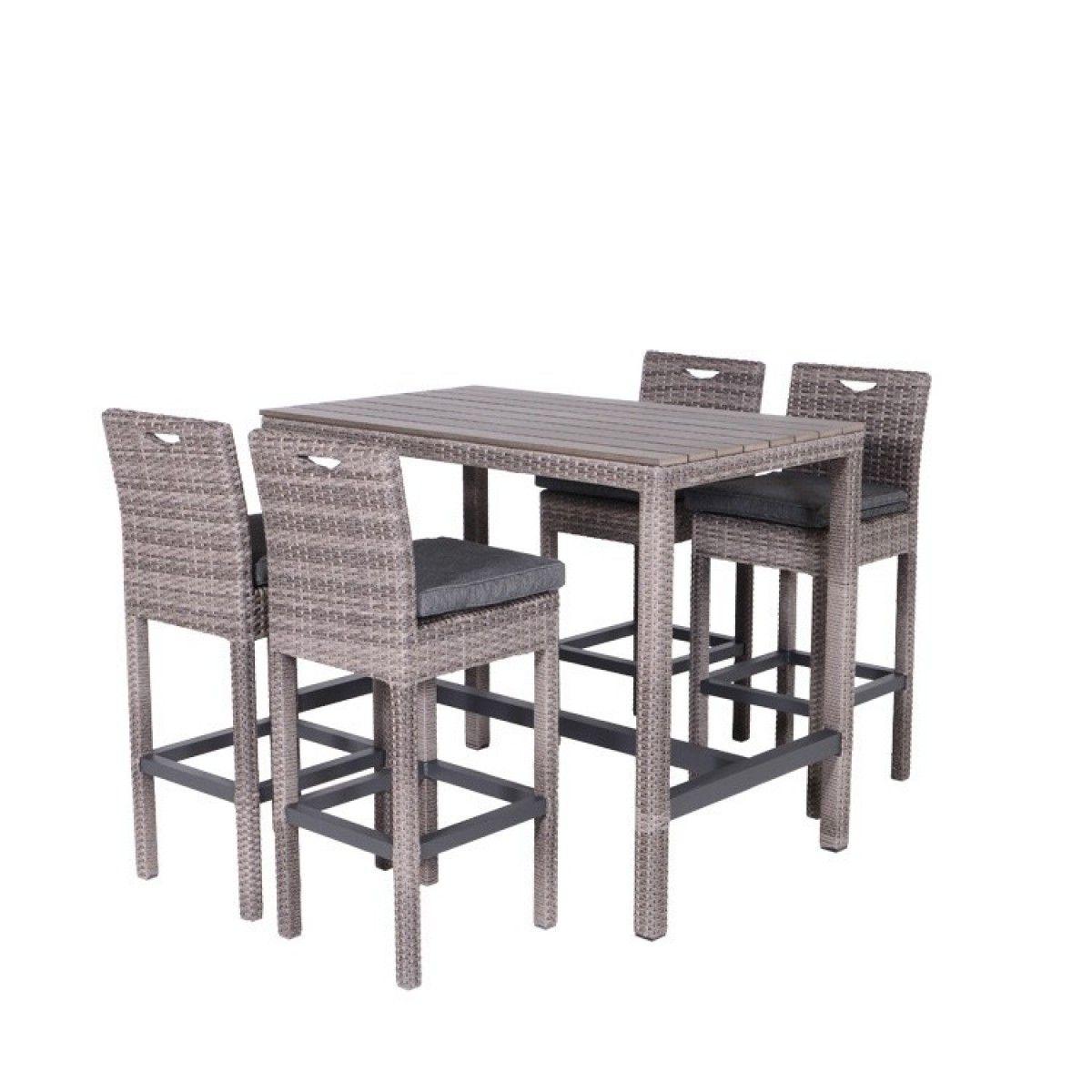 polyrattan loungem bel bistro bar sitzgruppe paddy gardenimpressions lounge dining sets. Black Bedroom Furniture Sets. Home Design Ideas