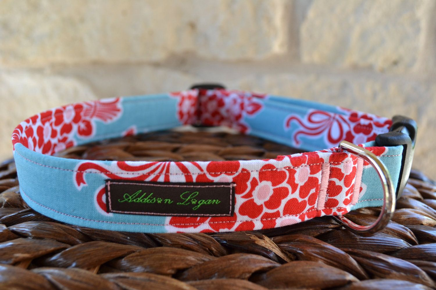 End of Year Sale Dog Collar Totally Custom ONLY A FEW OFFered. $13.50, via Etsy.