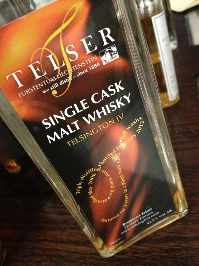 Our first taste of Lichtenstein's finest malt Whisky! #worldwhiskyday