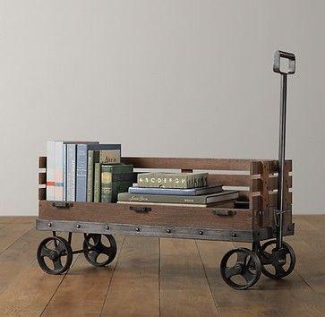 industrial cart   from restoration hardware