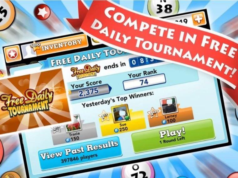 to Bingo Blitz Gifts Rewards Credits Page Fan