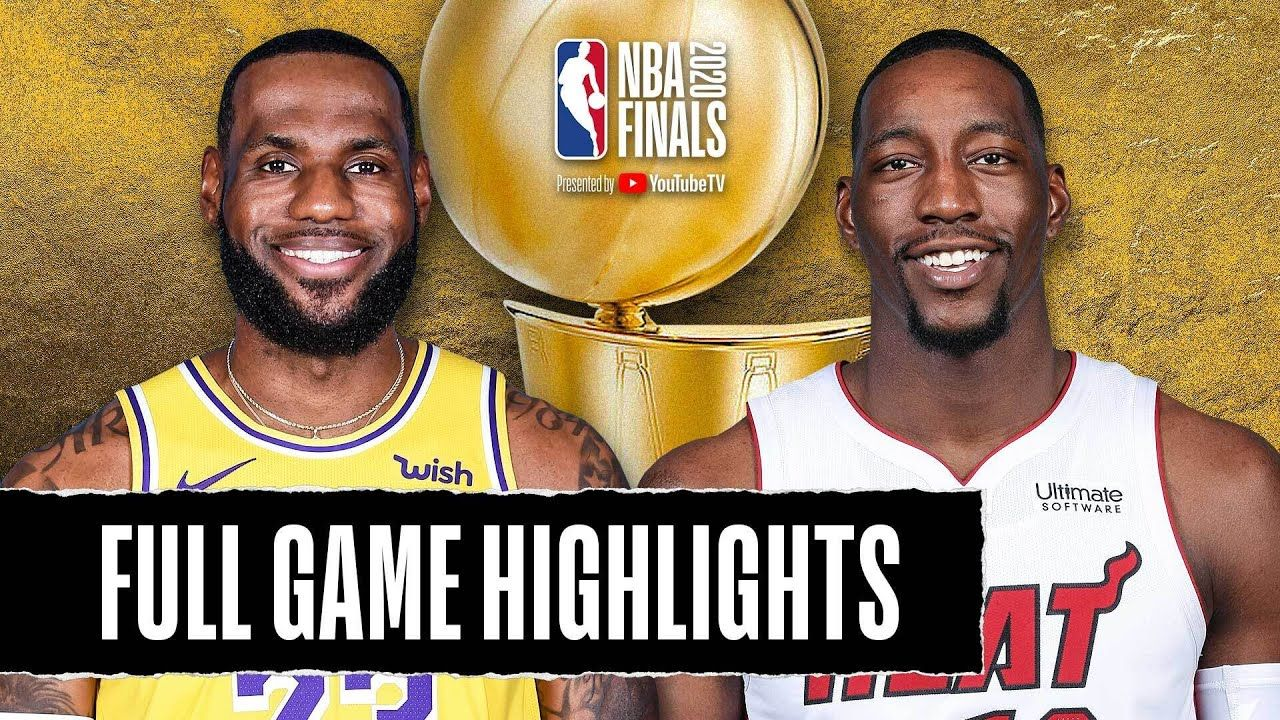 Lakers At Heat Full Game Highlights October 11 2020 In 2020 Full Games Lakers Los Angeles Lakers