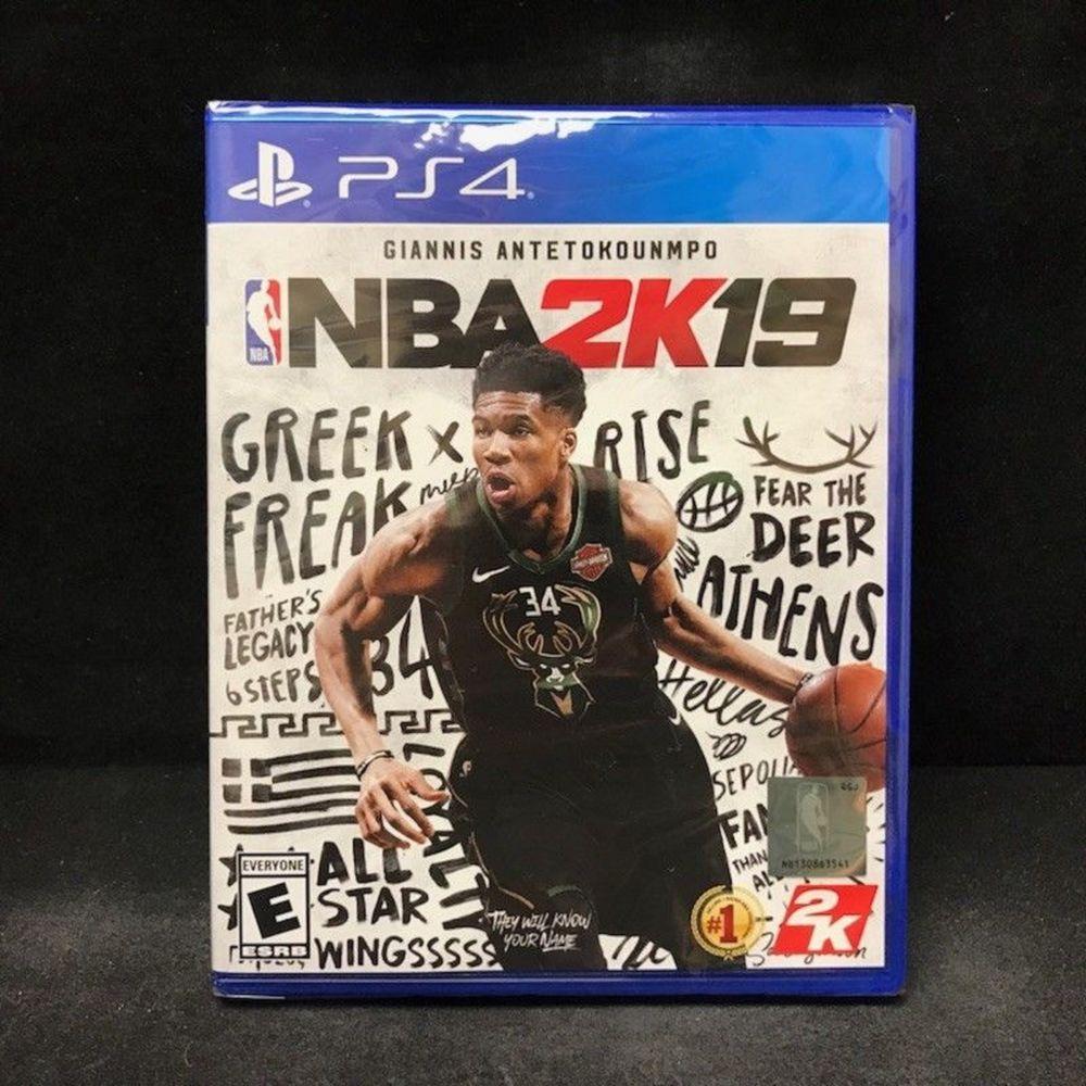 NBA 2K19 PS4 PlayStation 4 Video Games Basketball Hoops