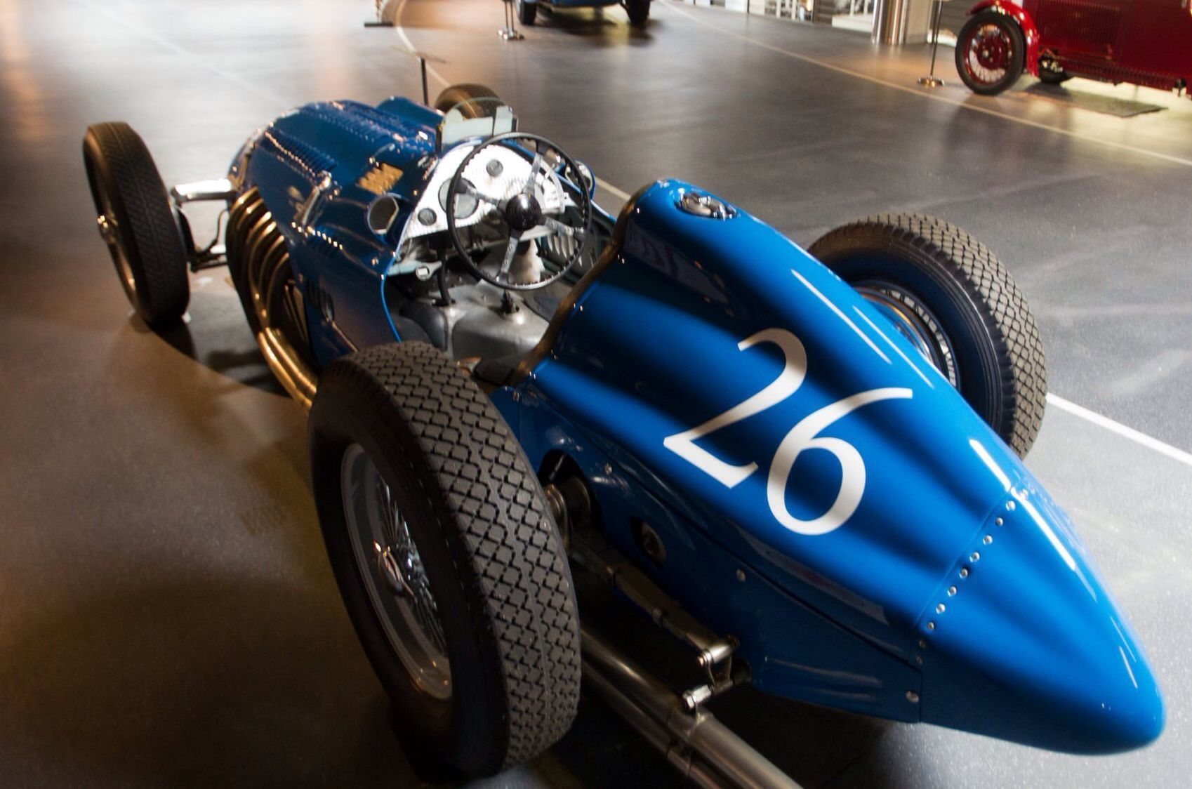 A favourite picture of another favourite car; the 4 1/2 litre Lago-Talbot.