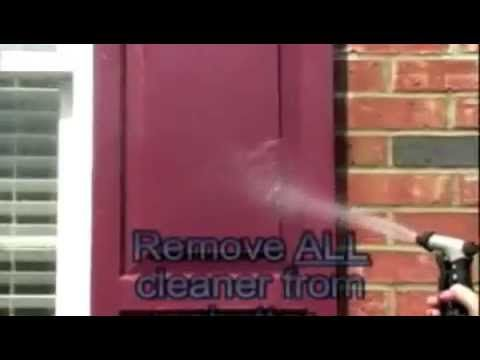 Clean Your Exterior Vinyl Shutters Easily With Shutter Renu Cleaner Concentrate Bring Back The Beauty A Vinyl Shutters Exterior Vinyl Shutters Shutter Repair