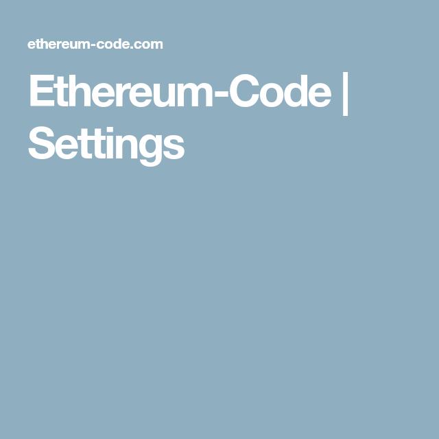 ethereum code com