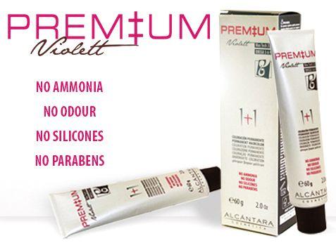 Violett Premium coloración permanente sin amoniaco!