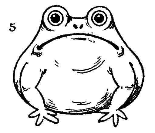 How to Draw a Frog | Easy drawings for kids, Easy drawings ...