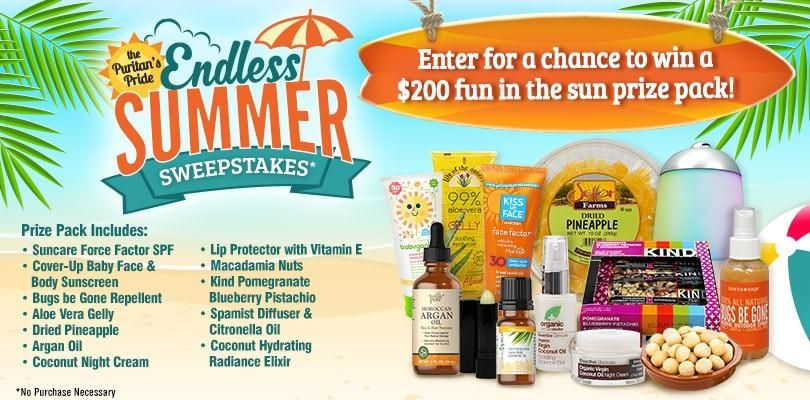 Endless Summer Sweepstakes Summer sweepstakes