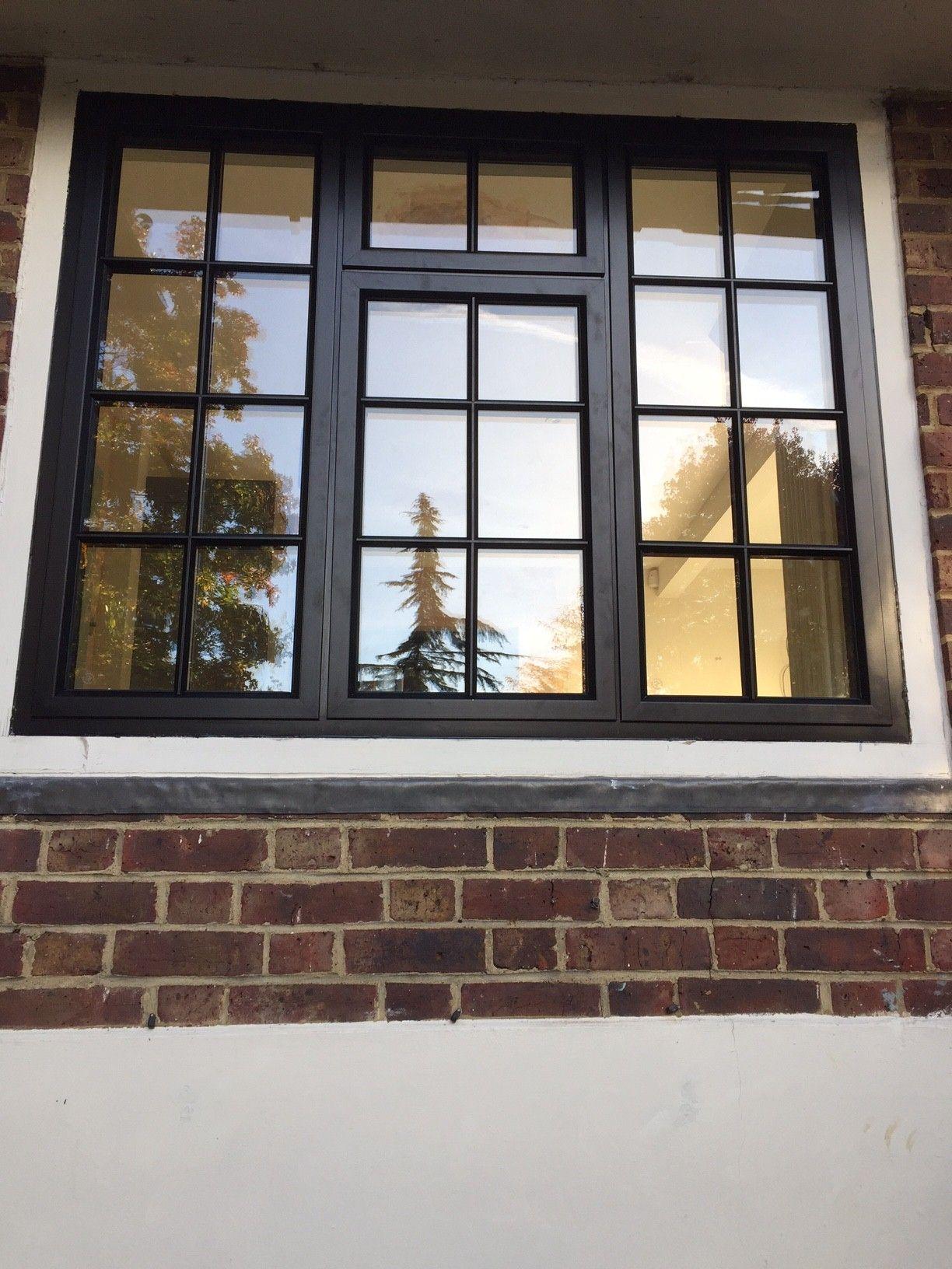 black aluminium timber fix fix window with external. Black Bedroom Furniture Sets. Home Design Ideas