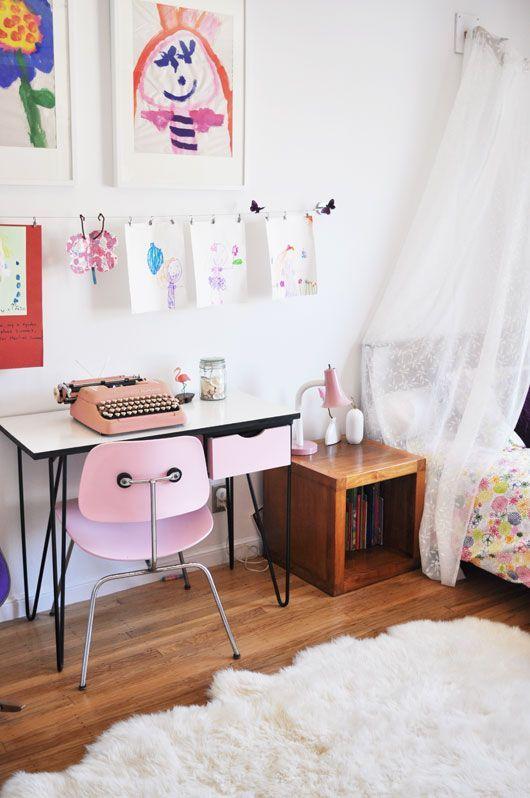 4 Idées pour du rose pas Cul-cul la Praline - Deco Kids & Co pink kidsroom nursery kids girl