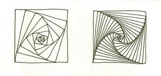 Zentangle's instructions for the tangle Paradox, from the February 2008 newsletter .