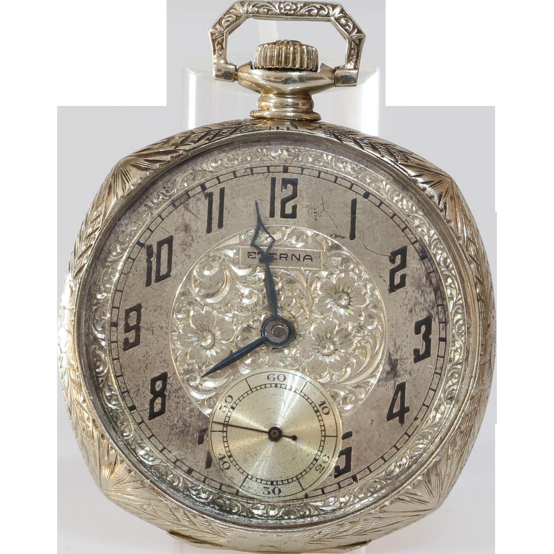 Vintagebeginshere At Www Rubylane Com Vintage Pocket Watch By Illinois Watch Co Vintage Pocket Watch Pocket Watch Antique Automatic Watches For Men