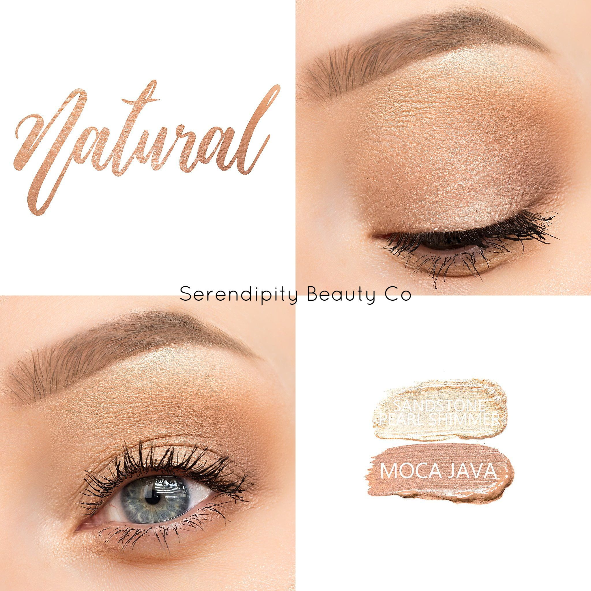 Cream To Powder Eye Shadow Long Lasting Smudge Proof Water Resistant No Fallout Fr Natural Eye Makeup Tutorial Eyeshadow Tutorial Natural Senegence Makeup