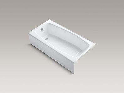 Kohler K 715 0 Villager 60 Quot X 31 Quot Alcove Bath With