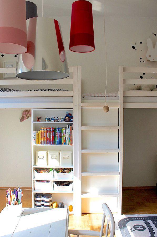 diy hochbett zwillinge schreibtische und kinderzimmer. Black Bedroom Furniture Sets. Home Design Ideas