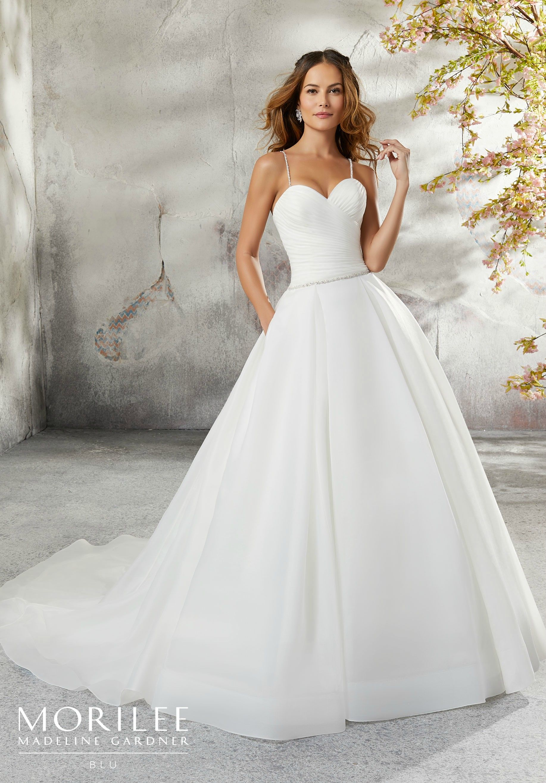 Mori lee madeline gardner wedding dress  Laurissa Wedding Dress  OUR WEDDING  Pinterest  Box pleat