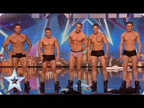 Why hello boys! Feeling a bit hot under the collar are we? | Britain's G...