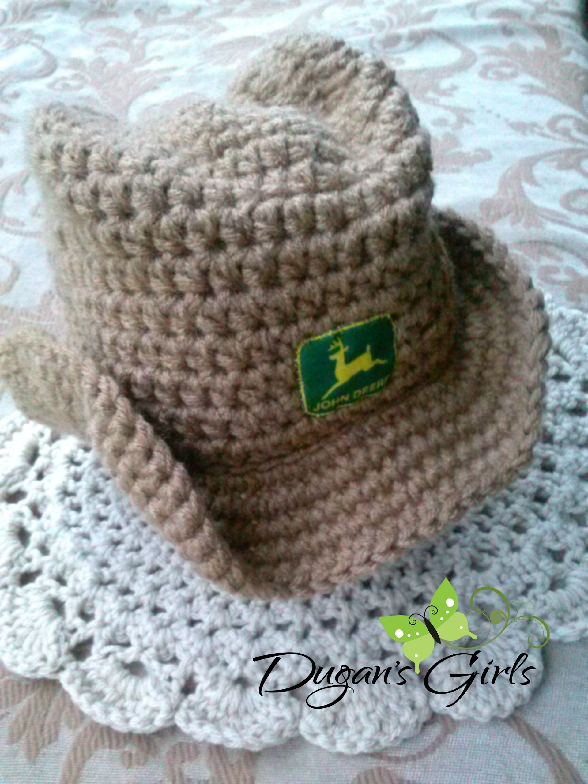 Crochet by Dugan's Girls {Boot Scoot'n Cowboy Hat}